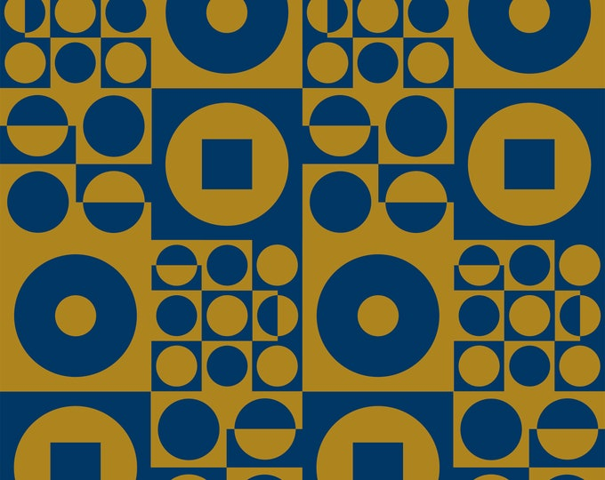 ROUND SQUARE Blue | Vintage Iconic 60s - 70s Danish Design