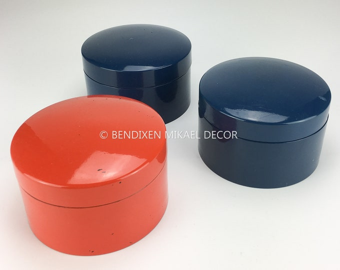 Laurids Lønborg 60s Vintage Danish Design, lacquered plastic Coasters