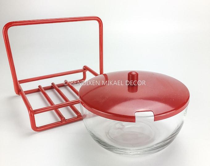 Red Wire Vintage Design, Sugar Bowl