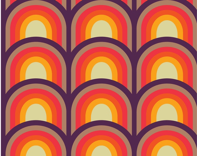 Fabric by the metre | Vintage Iconic 60s - 70s Danish Design