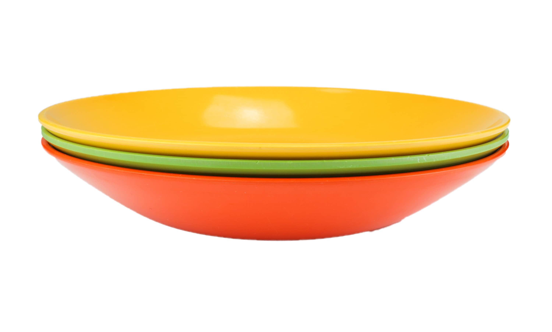 retro Yellow Rosti Mepal Margrethe Mixing Bowl 2 L