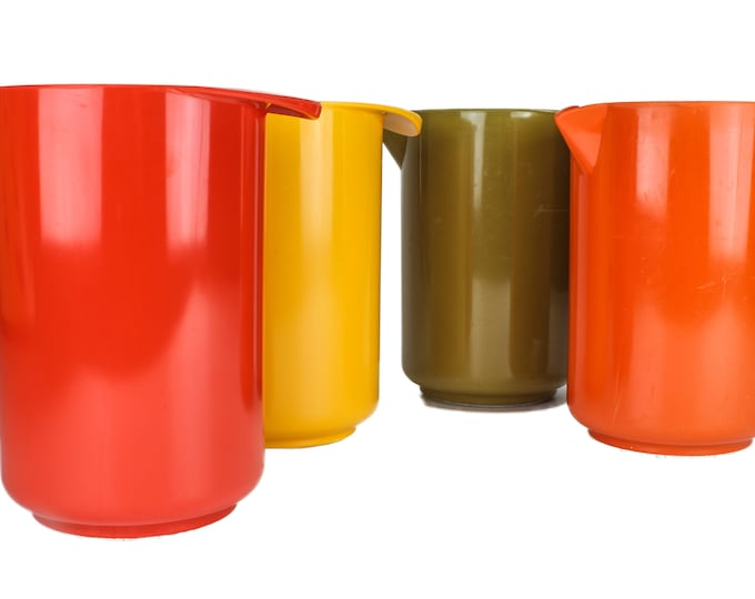 ROSTI - Mepal Melamine Vintage Iconic Danish Design, Mixing Jar