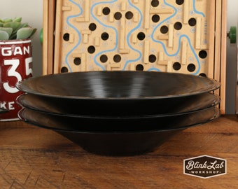 Smooth Retro Vinyl Record Bowls 3 Pack - Dish - Home Decor - High Fidelity - Musician - Audio - Upcycled - Repurposed