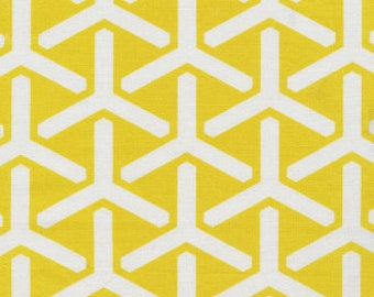Organic Canvas - One Yard:  {Yellow Tri}