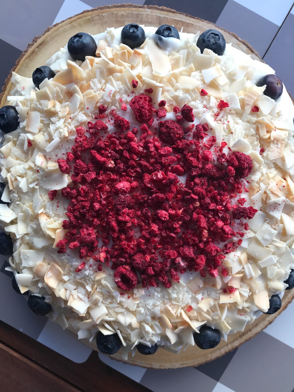 Phenomenal Vegan Vanilla Almond Raspberry Cake Birthday Cake 8 Funny Birthday Cards Online Necthendildamsfinfo