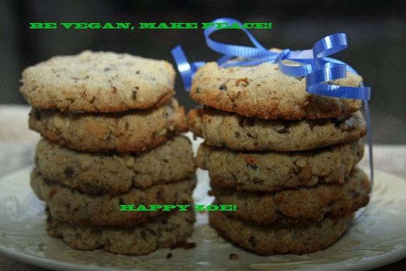 Vegan fantastic coconut almond lavender  cookies, love, natural,healthy ingredients,wedding,birthday.