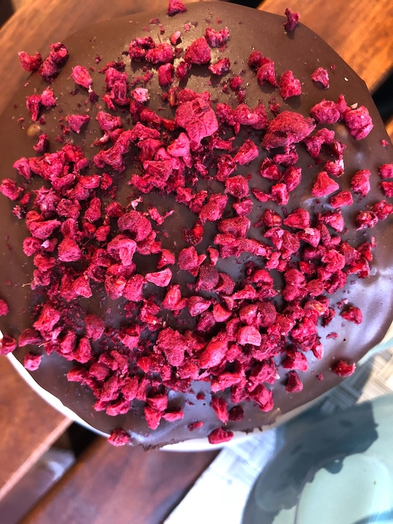 Vegan Gluten Free Mini Chocolate  Raspberry  cake