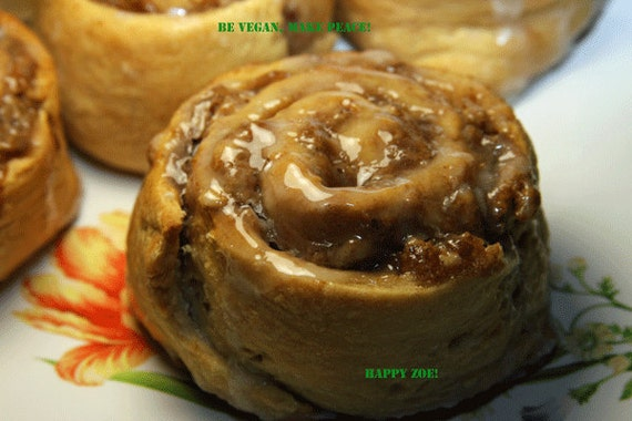 Vegan Incredible Hemp Seed Cinnamon Oat rolls 5 pcs, Dairy Free, No Eggs, No animal ingredients.