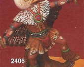 Ready to Paint Eagle Kachina Doll Sculpture Native American Indian - Unpainted Ceramic Bisque You Paint Your Own - U Paint Ceramic Bisque