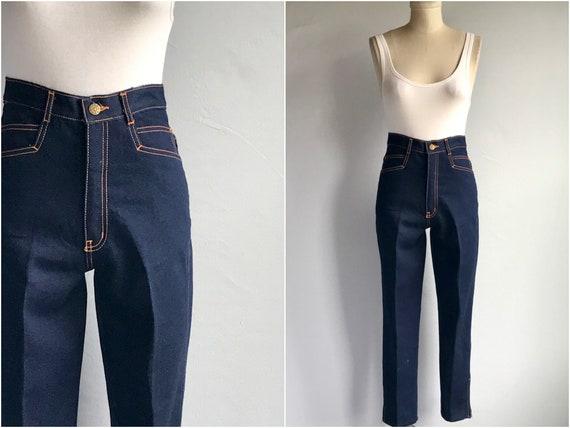 Vintage 80s Gitano Jeans / 1980s High Waist Dark D
