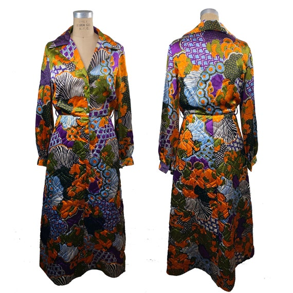 Vintage 1970s Bill Tice Royal Robes Psychedelic Ma