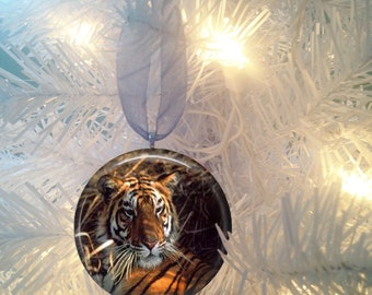 Tiger #1 Christmas Tree Ornament