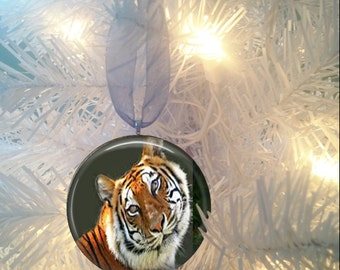 Tiger #4 Christmas Tree Ornament