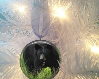 Black Bear #1 Christmas Tree Ornament