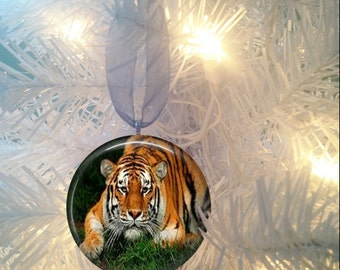 Tiger #3 Christmas Tree Ornament