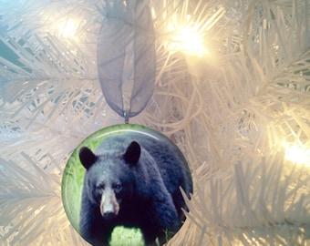 Black Bear #3 Christmas Tree Ornament