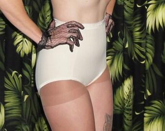 6e52de88e5d Vintage Ivory Flexees Panty Girdle XL Pin Up retro mid century pinup  boudoir bettie page mad men 1950 s rockabilly shapewear pantie lingerie