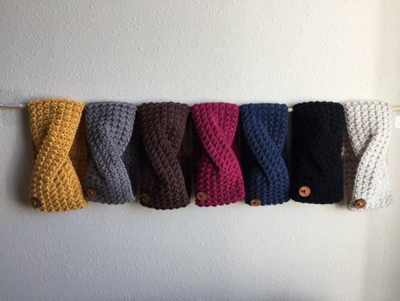 Ohr wärmer häkeln Ohr wärmer Kopf wickeln Winter Stirnband | Etsy