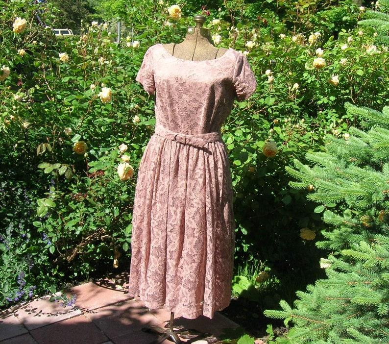 My Wild Irish Rose Sienna 50's Lace Dress . Vintage image 0