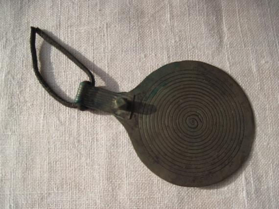 Moroccan Spiral Amulet Pendant