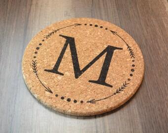 Wood Hot Pad Pot Holder Custom Name #62268 Details about  /Personalized Custom Kitchen Trivet