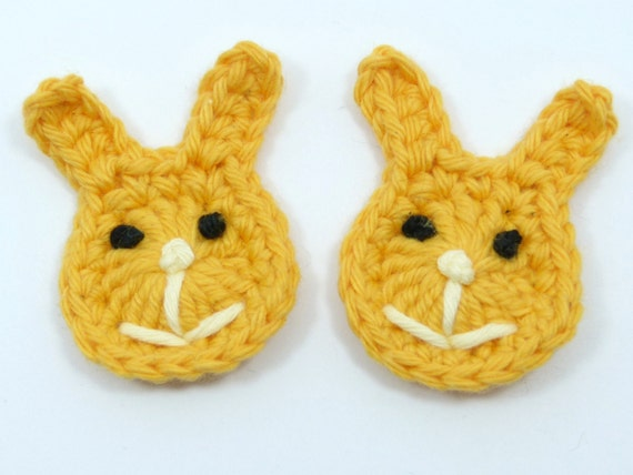 Häkeln Häkeln Kaninchen 2 Osterhasen Cardmaking Etsy