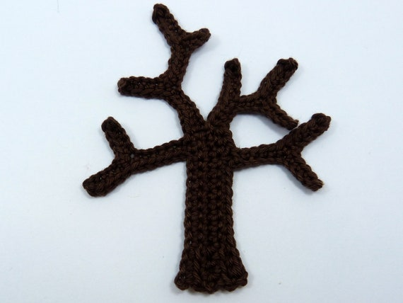 Weihnachten Häkeln Applikationen Häkeln 1 Applikation Baum Etsy