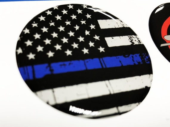 Stickers United States USA Gel Domed Resin 3D Flags Vinyl Sticker Decals Helmet