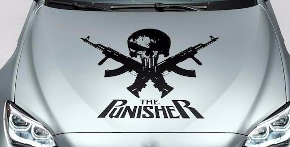Punisher Vinyl logo decal sticker