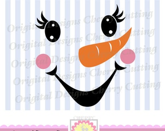 picture about Printable Snowman Face Patterns titled Snowman deal with Etsy