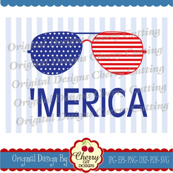 4th of july merica svg dxf independence day svg eps etsy
