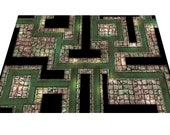 2 39 x3 39 Sewers Dungeon Map RPG game mat - for Dungeons and Dragons, Pathfinder, Warhammer Quest, Dungeon World, roleplaying Fantasy 28mm D20