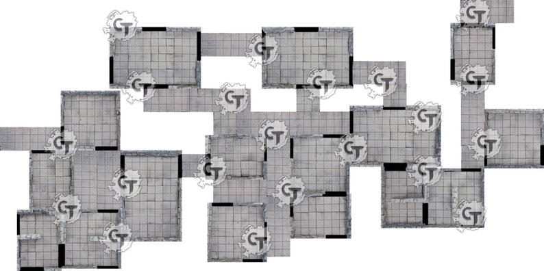 Print and Play Dungeon  Core tile set for Dungeons and image 0