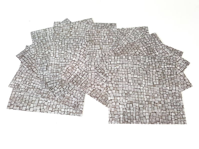 6x6 Cobblestones Tiles  RPG Maps for Dungeons and image 0