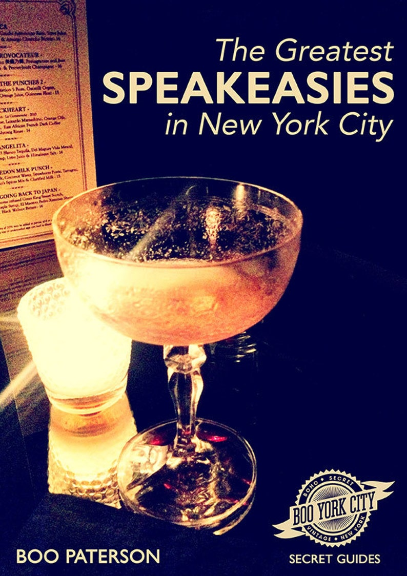 The Greatest Speakeasies in New York City  e book image 0