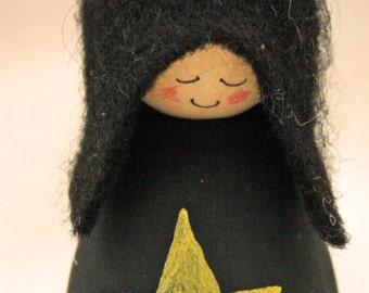 Cornish Pixie Elf Gold Star