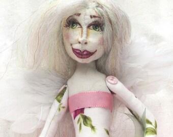 Cloth Art Doll Candy