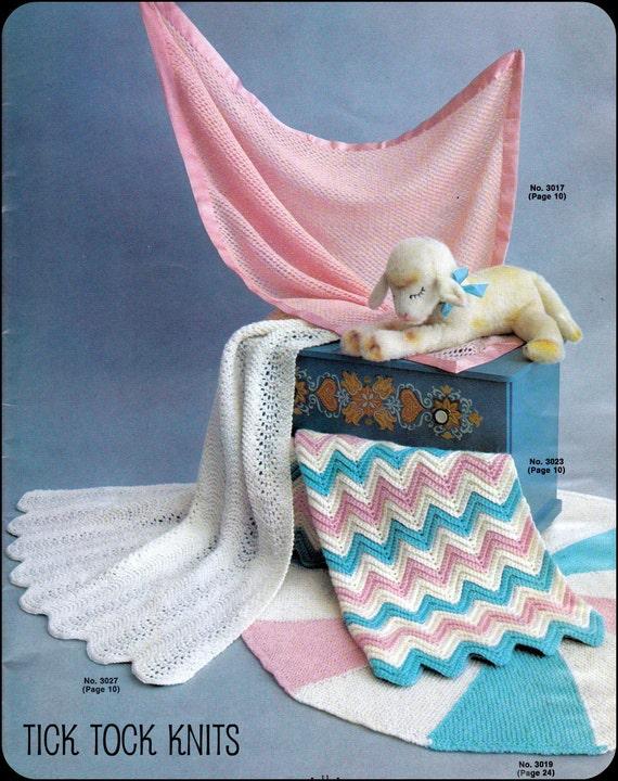 No. 53 PDF Baby Decke Muster Jahrgang stricken und Häkeln 4 | Etsy