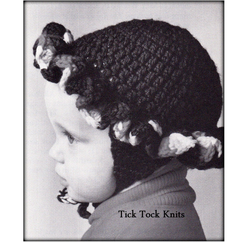 No556 Baby Hat Crochet Pattern Pdf Vintage Ruffled Earflap Etsy