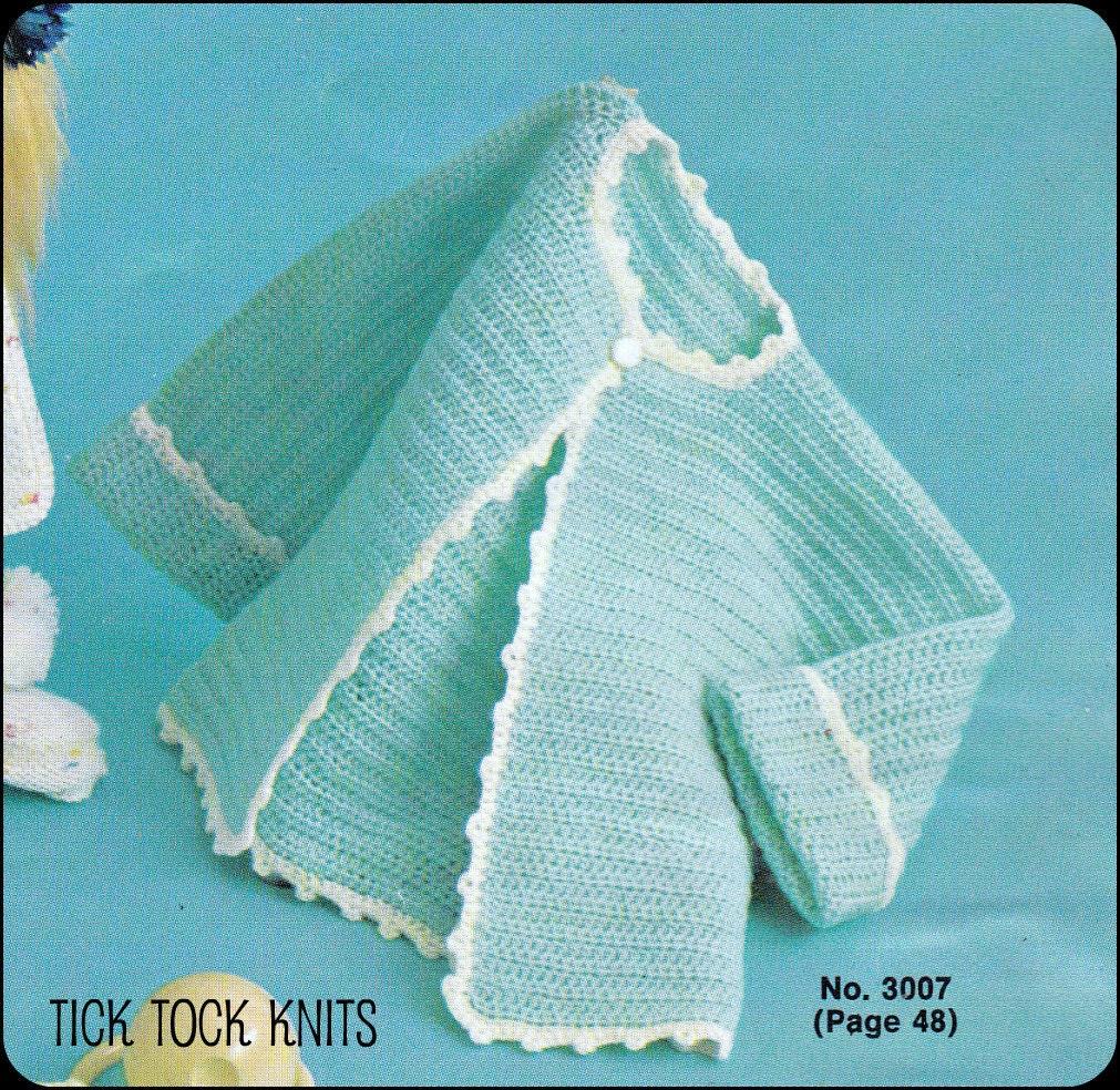 No56 Baby Crochet Pattern Pdf Vintage Babys Crocheted Etsy