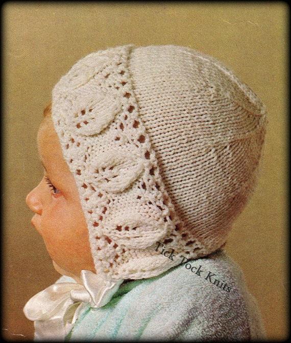 No.348 Baby Mütze Stricken Muster PDF-Vintage | Etsy