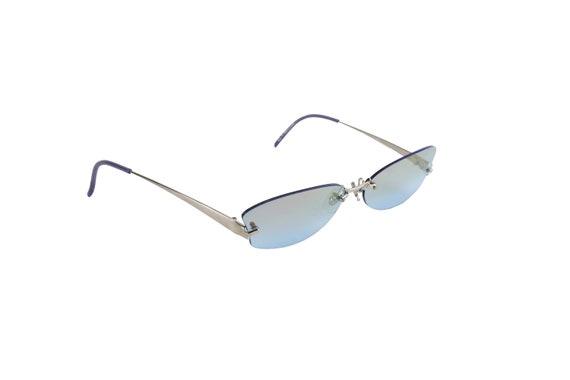 ALEXANDRE McQueen Rimless / Iridescent Sunglasses