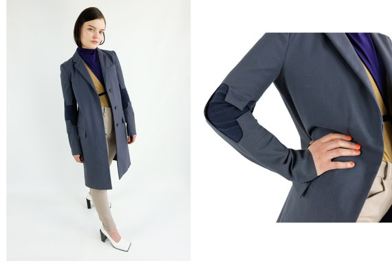 HELMUT LANG  Elbow Cut Out Coat