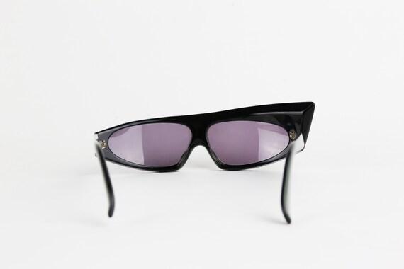 ALAIN MIKLI 1984 Rhinestone Sunglasses - image 4