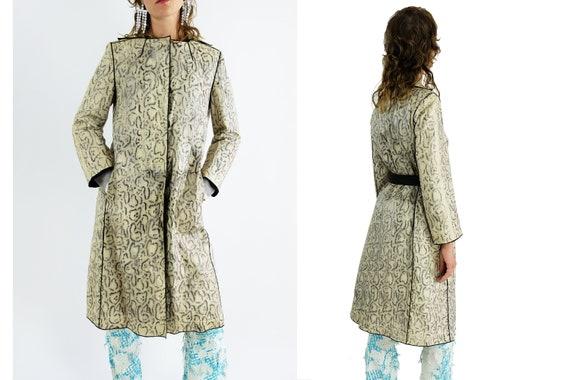 DOLCE & GABBANA Snakeskin Coat