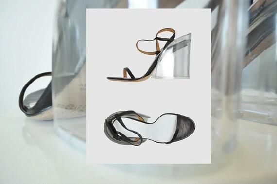 MAISON MARTIN MARGIELA Acrylic Heel Sandal