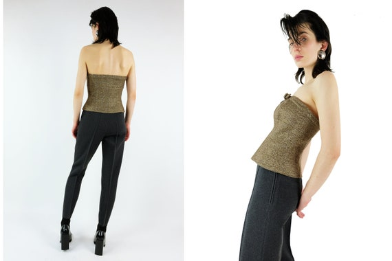 Reserved THIERRY MUGLER Wool Bustier