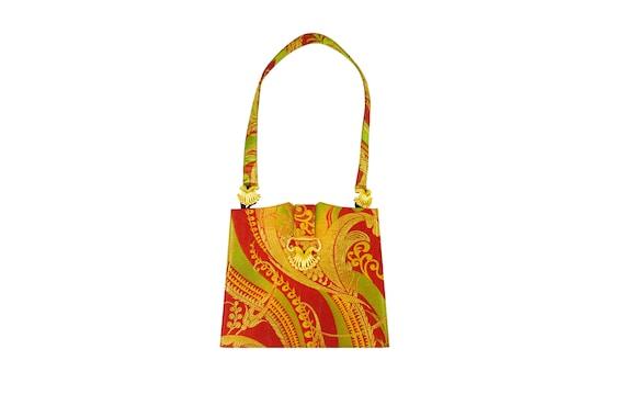 NINA RICCI Jewelled Jacquard Handbag