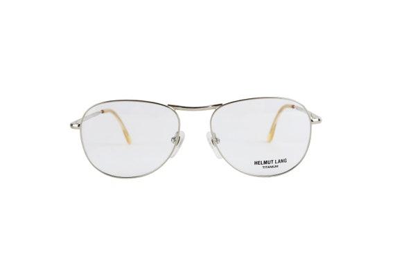 HELMUT LANG Vintage Eyewear Titanium Frame