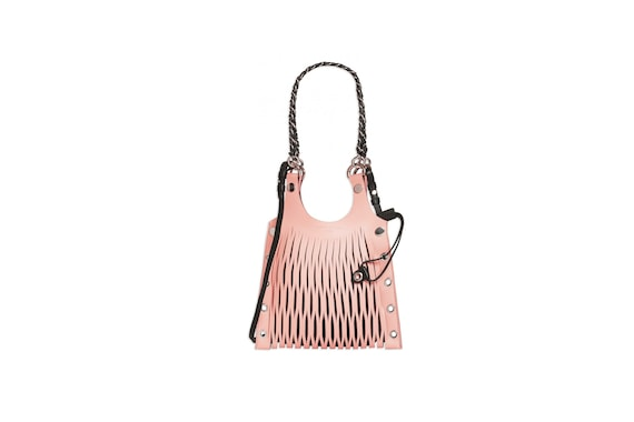 SONIA RYKIEL Le Baltard Small Leather Tote Bag